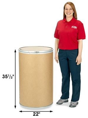 55 gallon barrel dimensions