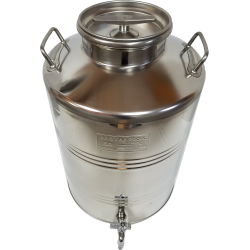 50lt (13.2 gallons) Stainless Steel Olive Oil Container